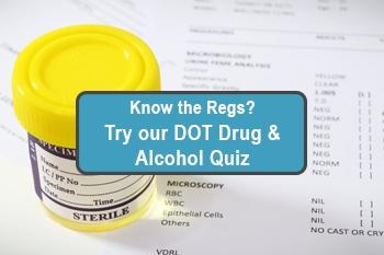 quiz drug test dot